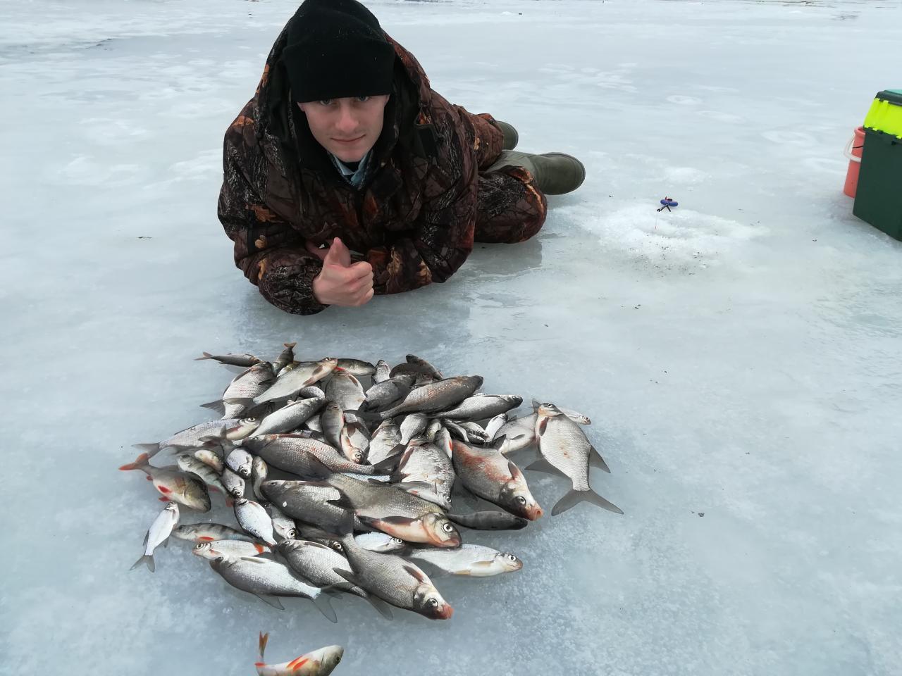 1 апреля с сыном, по-видимому, завершили зимний сезон ... | Отчеты о рыбалке в Беларуси