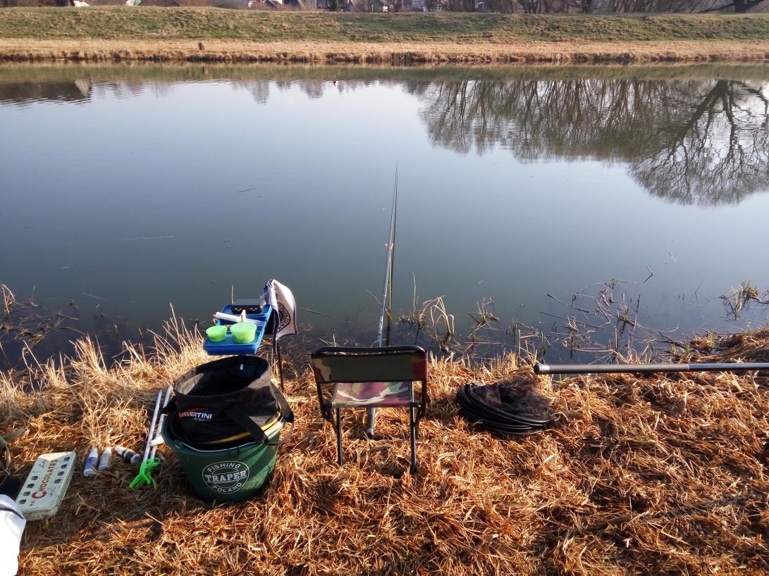 Сегодня впервые после зимы макал поплавок. Ловил в ... | Отчеты о рыбалке в Беларуси