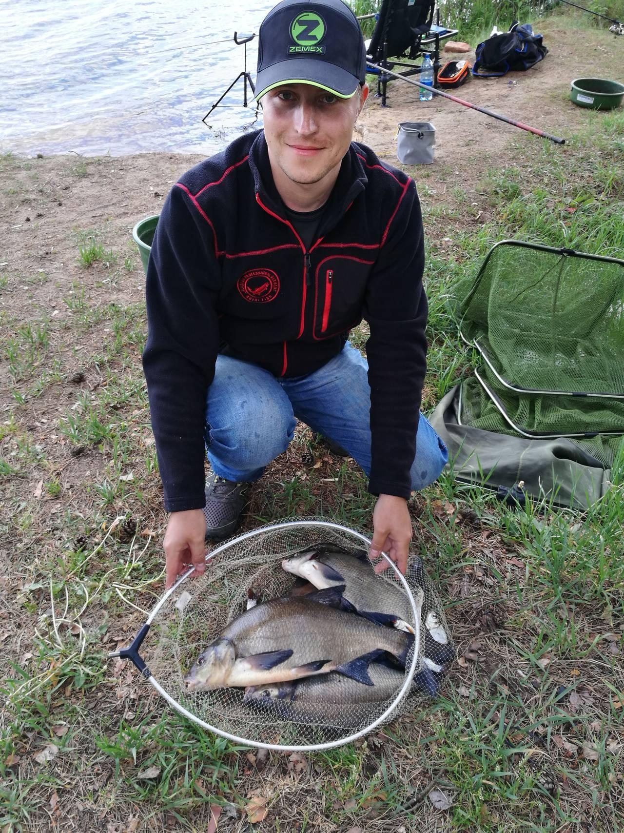 Недавно половил на Вилейском.Сели не совсем туда, куда ... | Отчеты о рыбалке в Беларуси