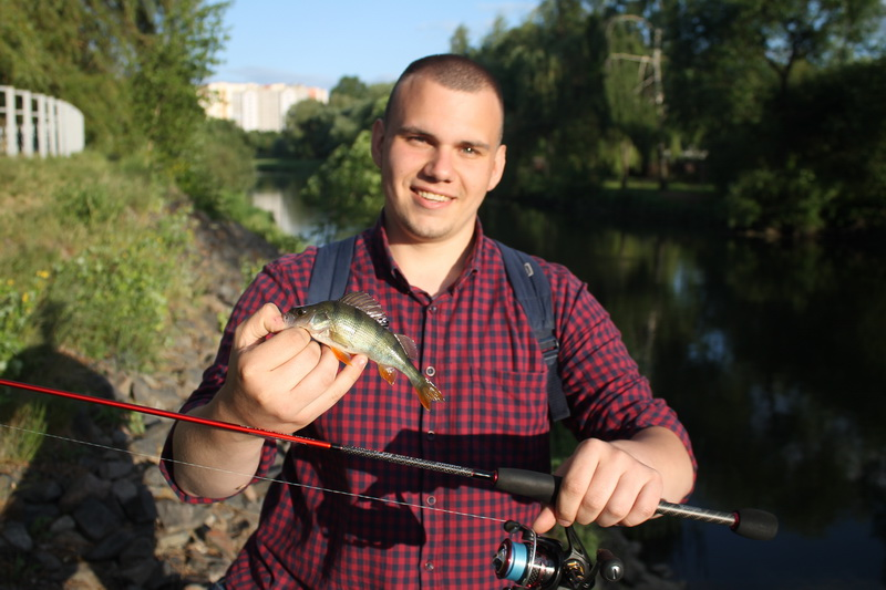 Обычная прогулка с микроджиговым комплектом... | Отчеты о рыбалке в Беларуси