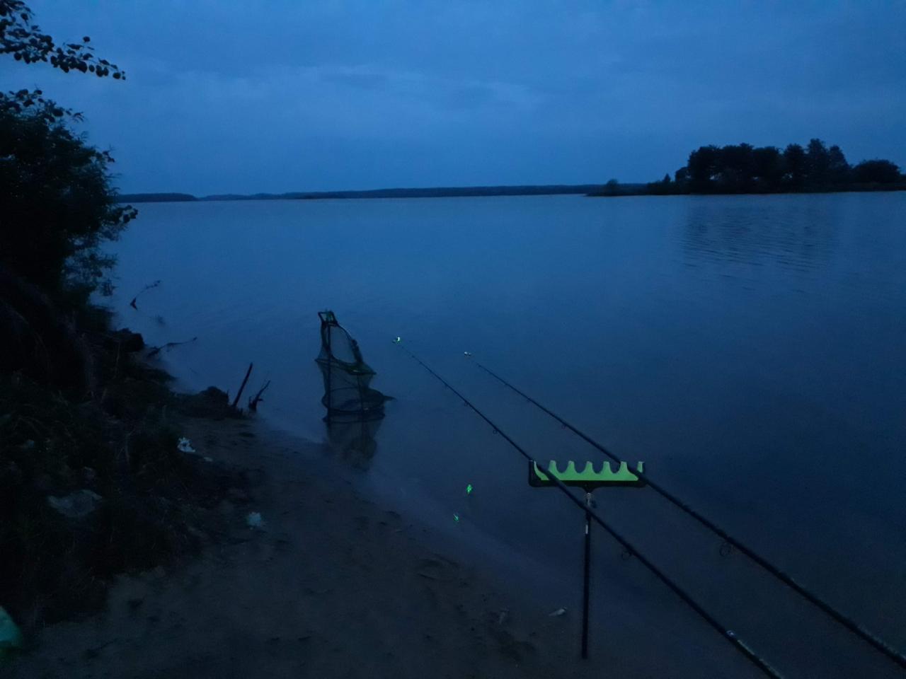 С понедельника на вторник решели втроем (вдвоем, т.к ... | Отчеты о рыбалке в Беларуси