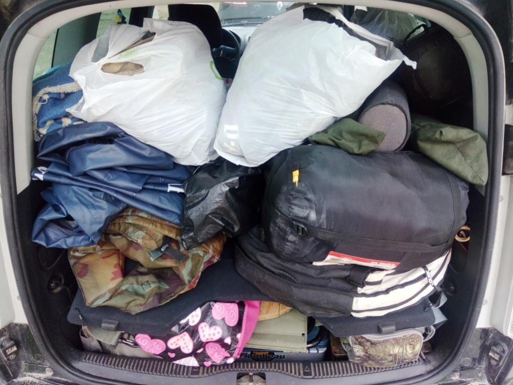В прошлое воскресенье в 16.12дня багажник моего автомобиля ... | Отчеты о рыбалке в Беларуси