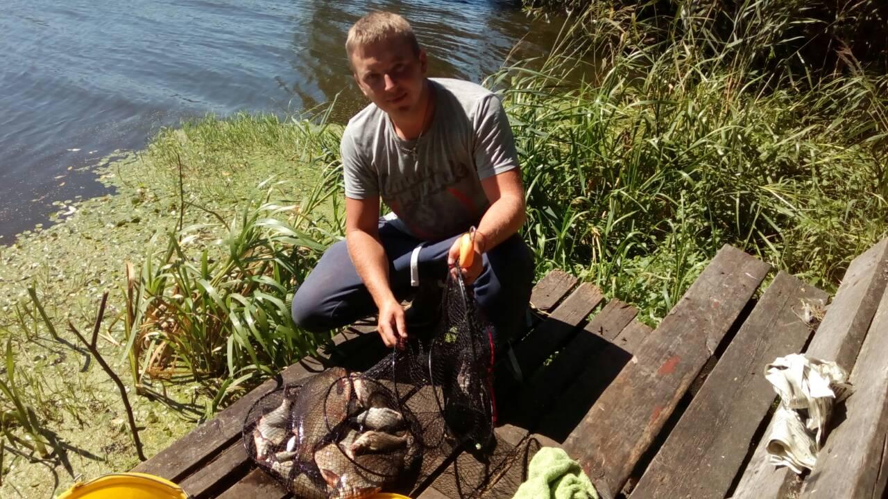 Были вчера впервые на Осиповичском, нашли удобное место ... | Отчеты о рыбалке в Беларуси