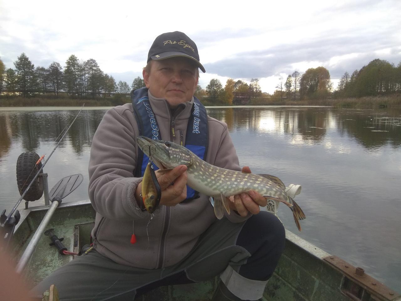 Сегодня брат захотел порыбачить, выехали вдвоём. Начали с ... | Отчеты о рыбалке в Беларуси