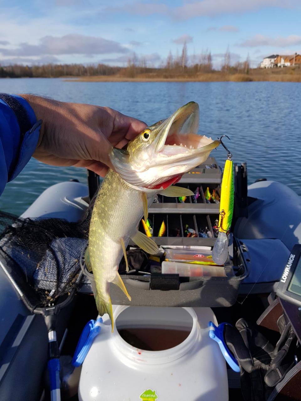 Что-то никто не пишет, хотя лодок как обычно ...   Отчеты о рыбалке в Беларуси
