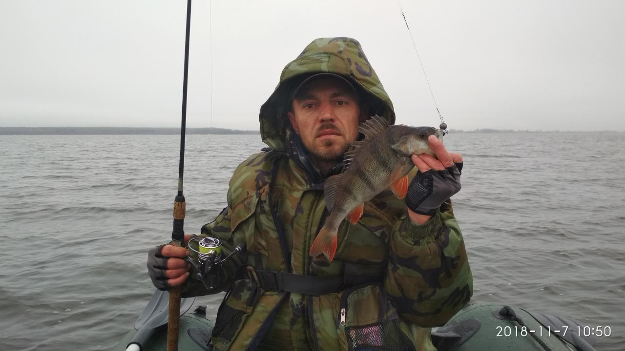 Сегодня искали судака, не нашли. Осенний день короткий ... | Отчеты о рыбалке в Беларуси