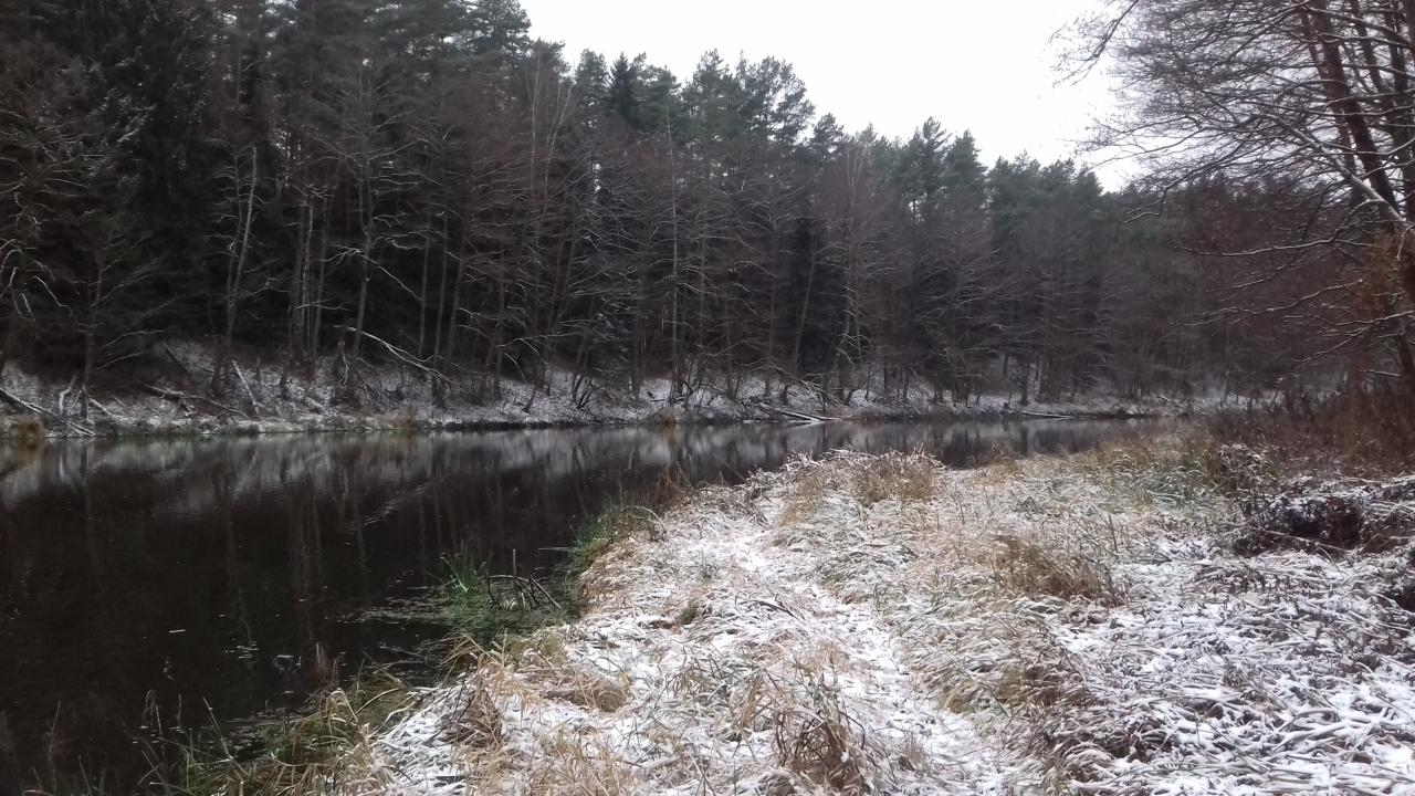 За бортом -3 градуса и я снова день ...   Отчеты о рыбалке в Беларуси