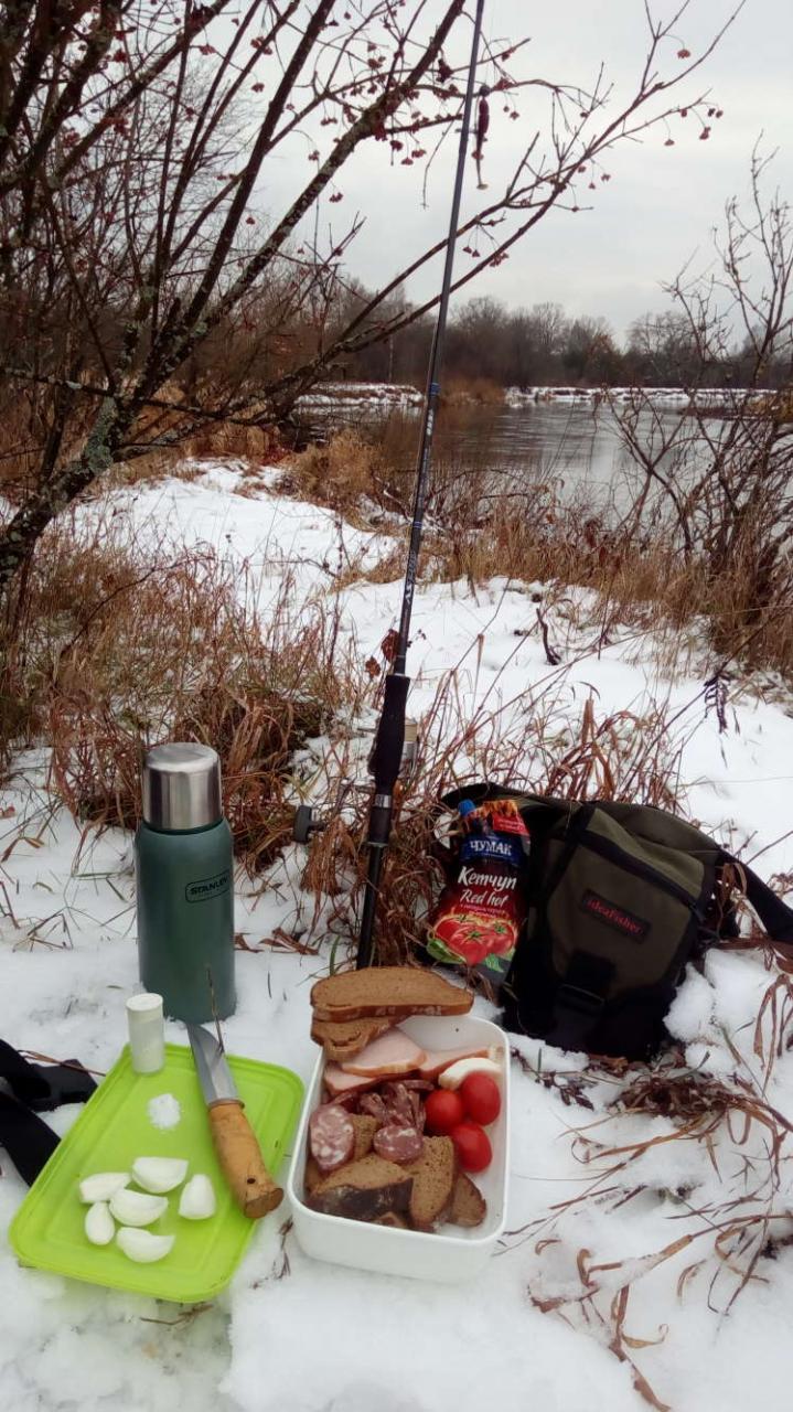 Суббота.Опасения, что увижу речку в шуге и мои ...   Отчеты о рыбалке в Беларуси