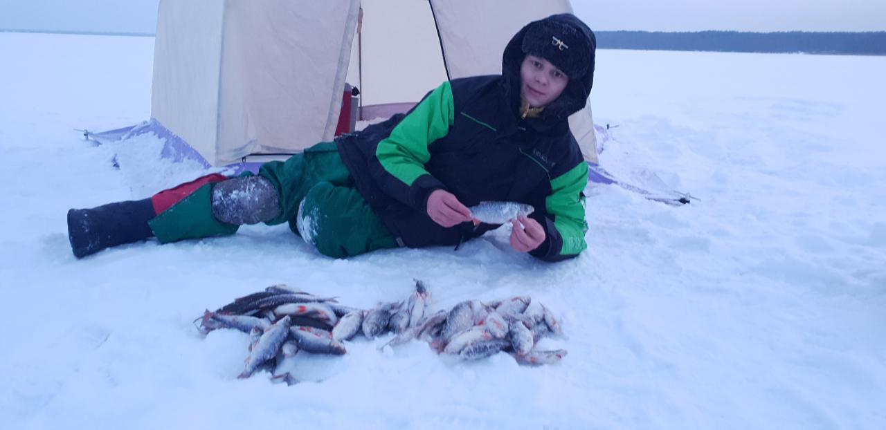 Сегодня ловили компанией из пяти человек. В кучу ... | Отчеты о рыбалке в Беларуси