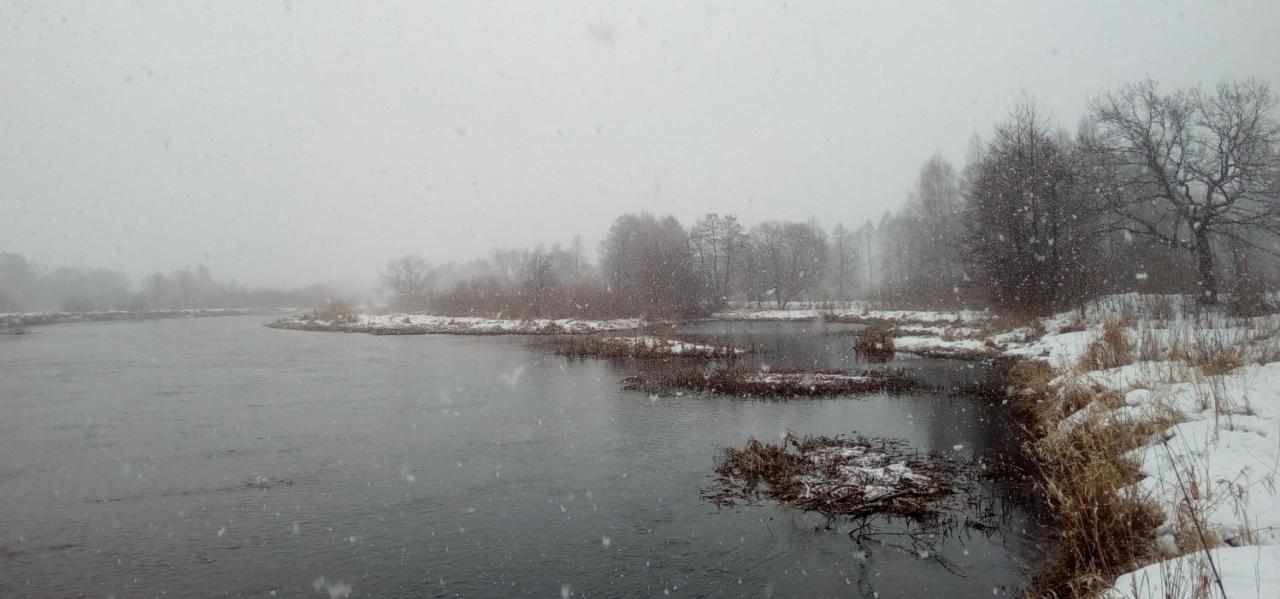 В среду случилась самая снежная рыбалка сезона. Начавшись ...   Отчеты о рыбалке в Беларуси