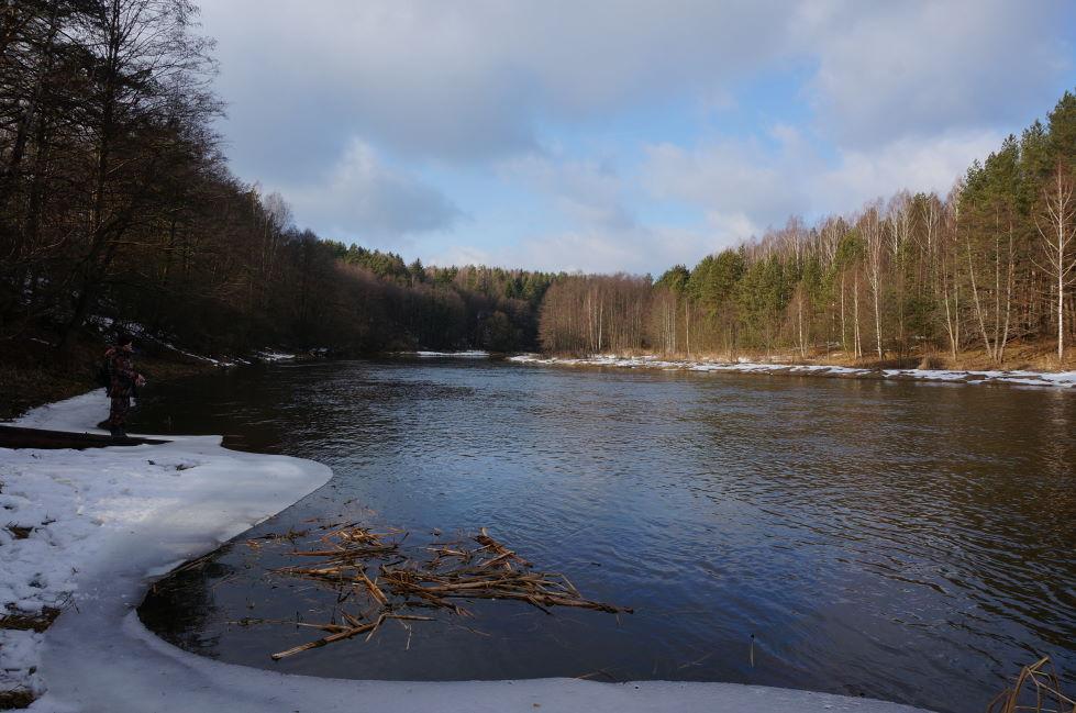 Вчера исследовали новые места.Погодка шепчет. От ветра укрывает ... | Отчеты о рыбалке в Беларуси