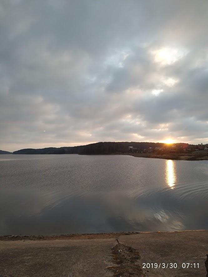 Сегодня с другом посетили Дубровское,точнее ресторан Дубров,проезжав вдоль ... | Отчеты о рыбалке в Беларуси