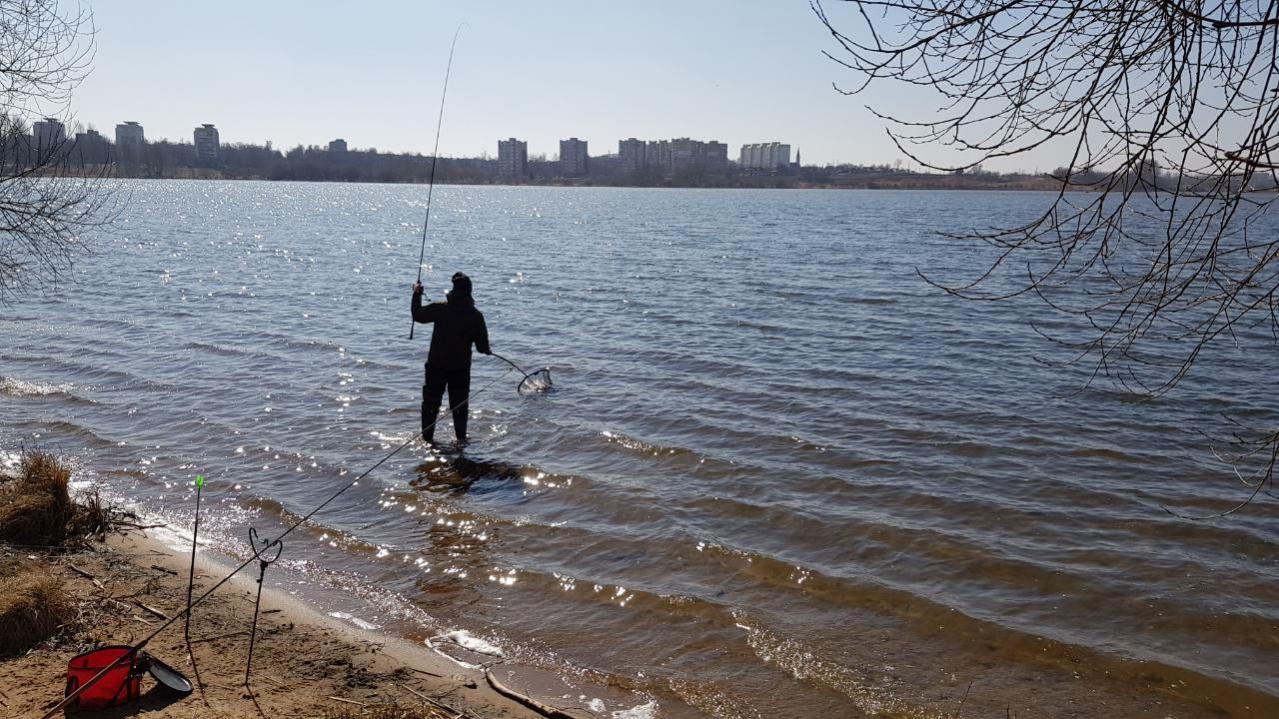 Друзья, наконец-то мы наловили много рыбы!!! Рыбачили 30.03.2019 ... | Отчеты о рыбалке в Беларуси