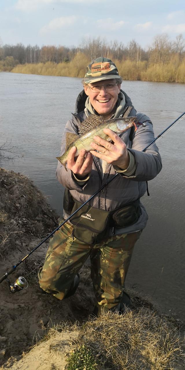В последний день марта решили с товарищем половить ... | Отчеты о рыбалке в Беларуси