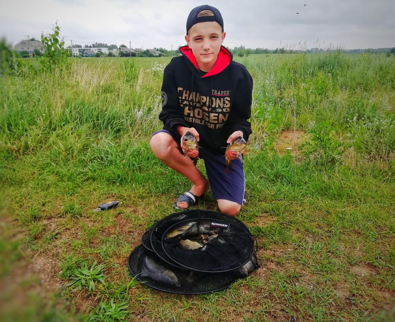 *Карповая миссия*Всем привет! Поднадоела мне лешчовая рыбалка и ... | Отчеты о рыбалке в Беларуси