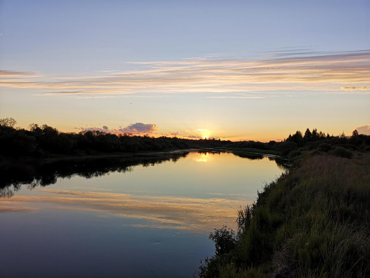 На минувших выходных вывозил шумную компанию давно не ... | Отчеты о рыбалке в Беларуси