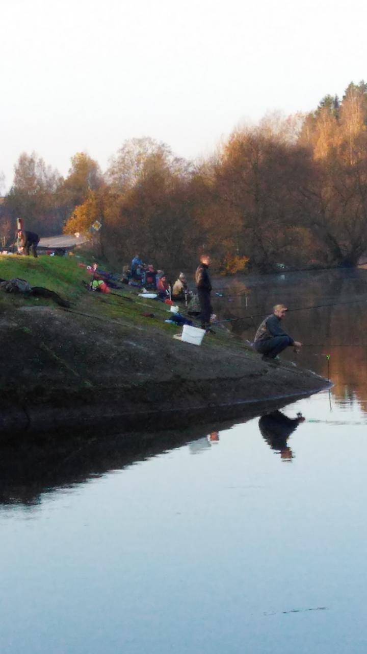 Поматчевал вчера на Вяче. Погода способствовала рыбалке  ...   Отчеты о рыбалке в Беларуси