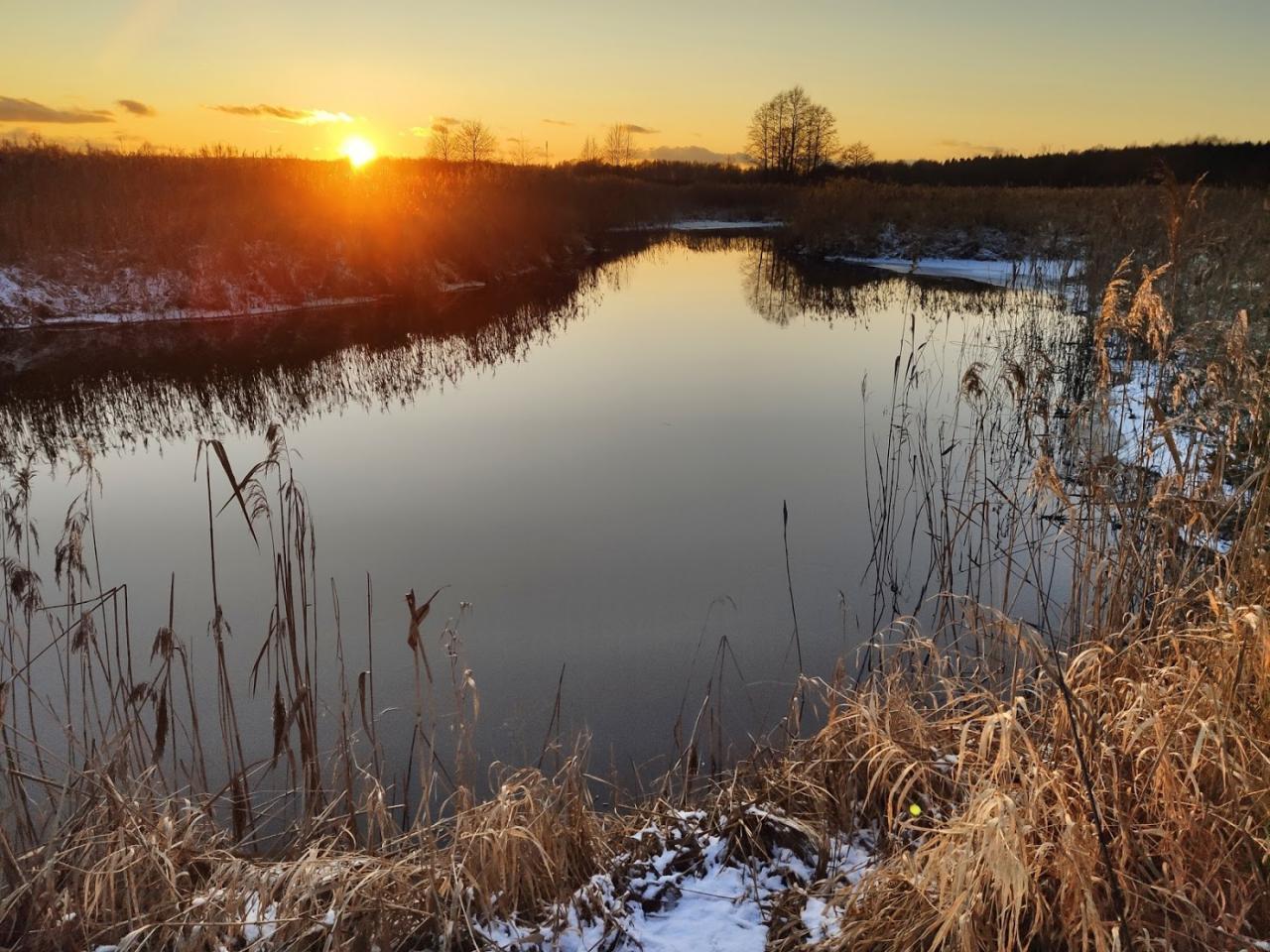 Вчера открыл очередной сезон зимнего спиннинга. Несмотря на ... | Отчеты о рыбалке в Беларуси