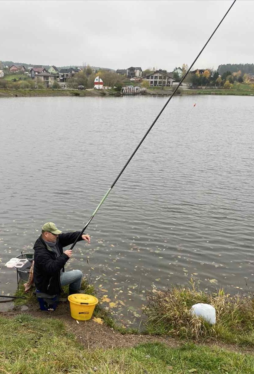  Половил сегодня плотвичку махом 7 м. на ... | Отчеты о рыбалке в Беларуси