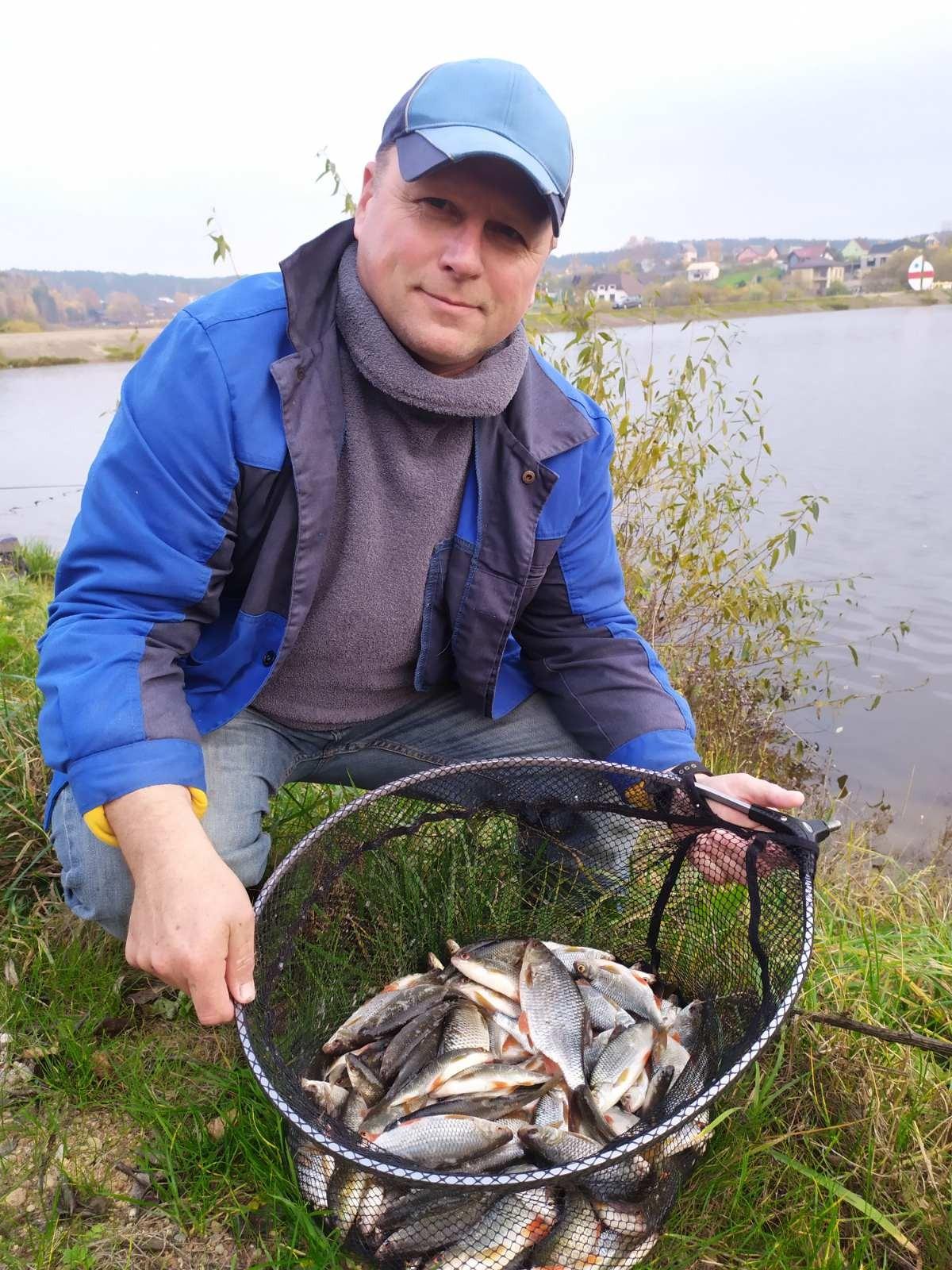 Результат на прошлой рыбалке был удручающий