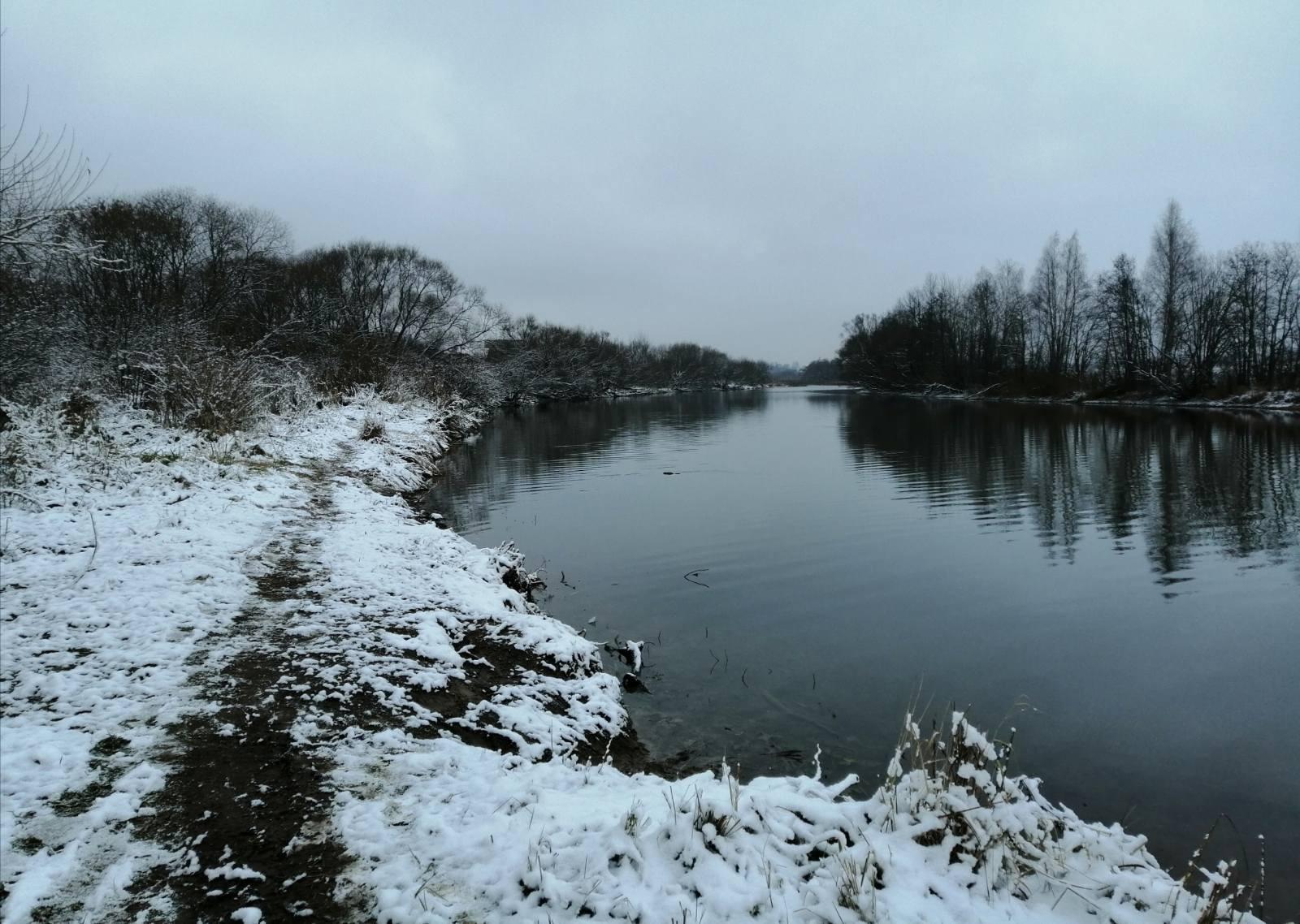Ну здравствуй, зима!Половил на зимней речке сегодня. Махом ...   Отчеты о рыбалке в Беларуси