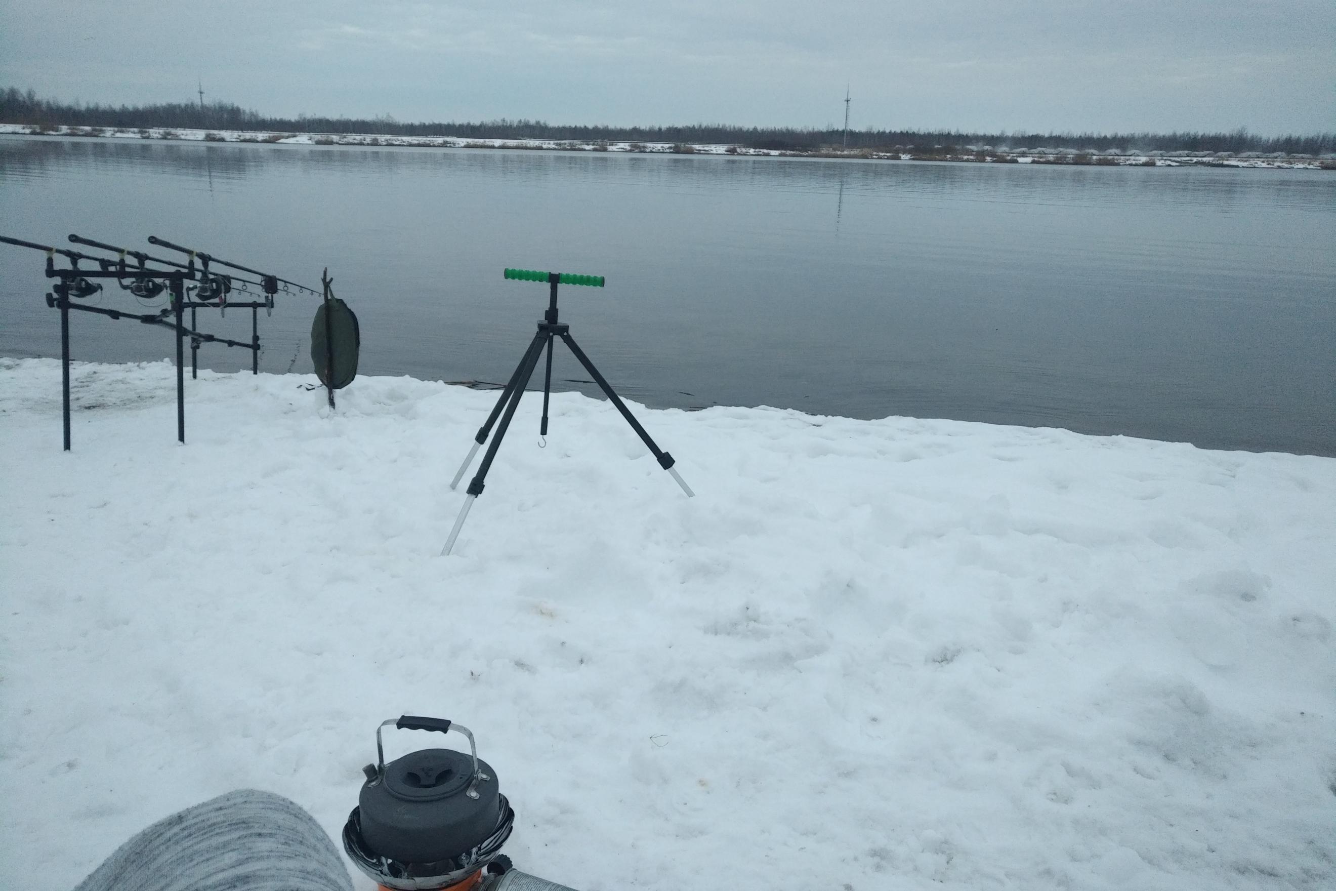 Был 23.01, погода для ловли супер комфор тная ... | Отчеты о рыбалке в Беларуси