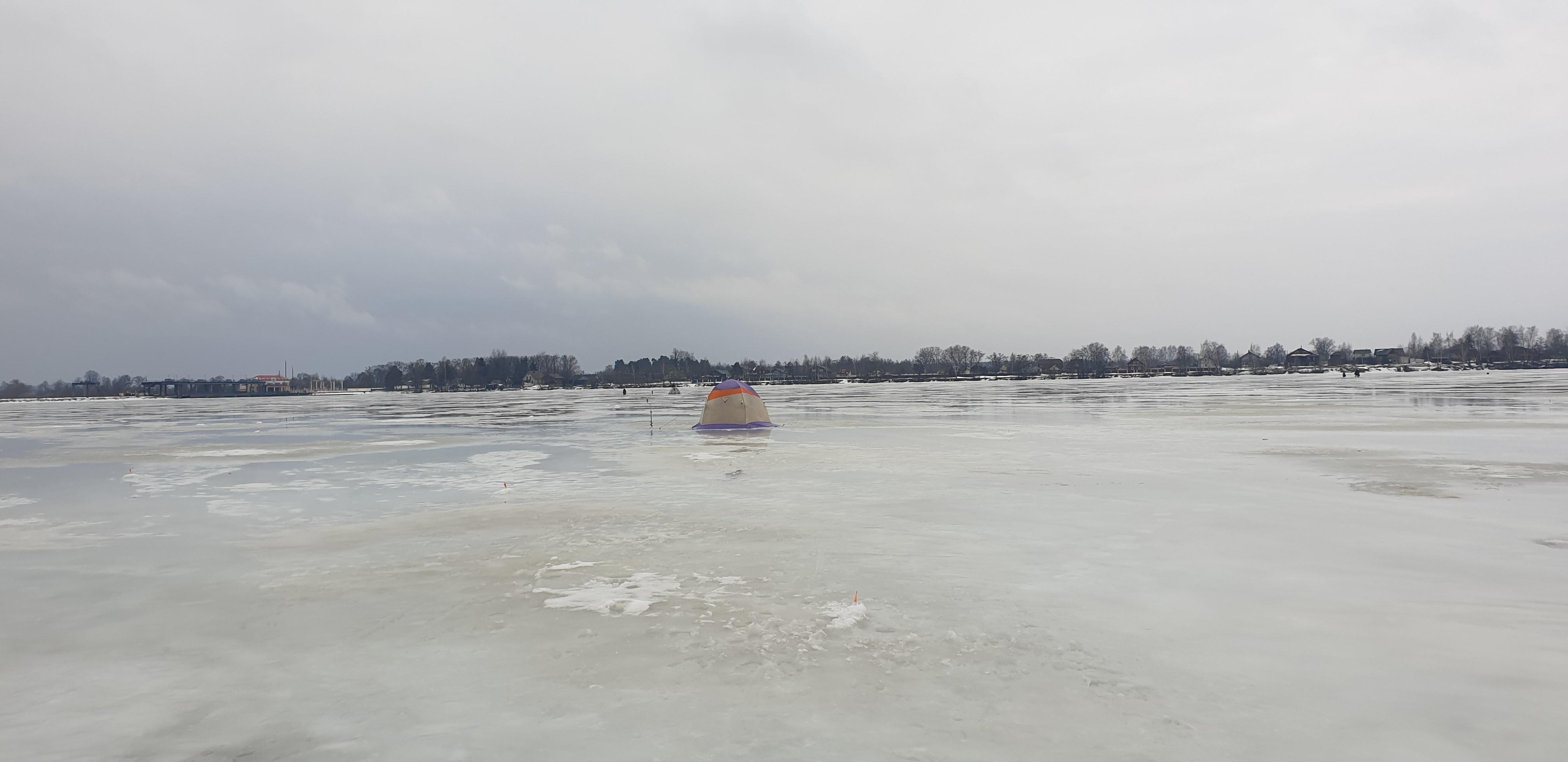 14 марта (воскресенье) рыбачили на Чигиринке.Ставили машину возле ... | Отчеты о рыбалке в Беларуси