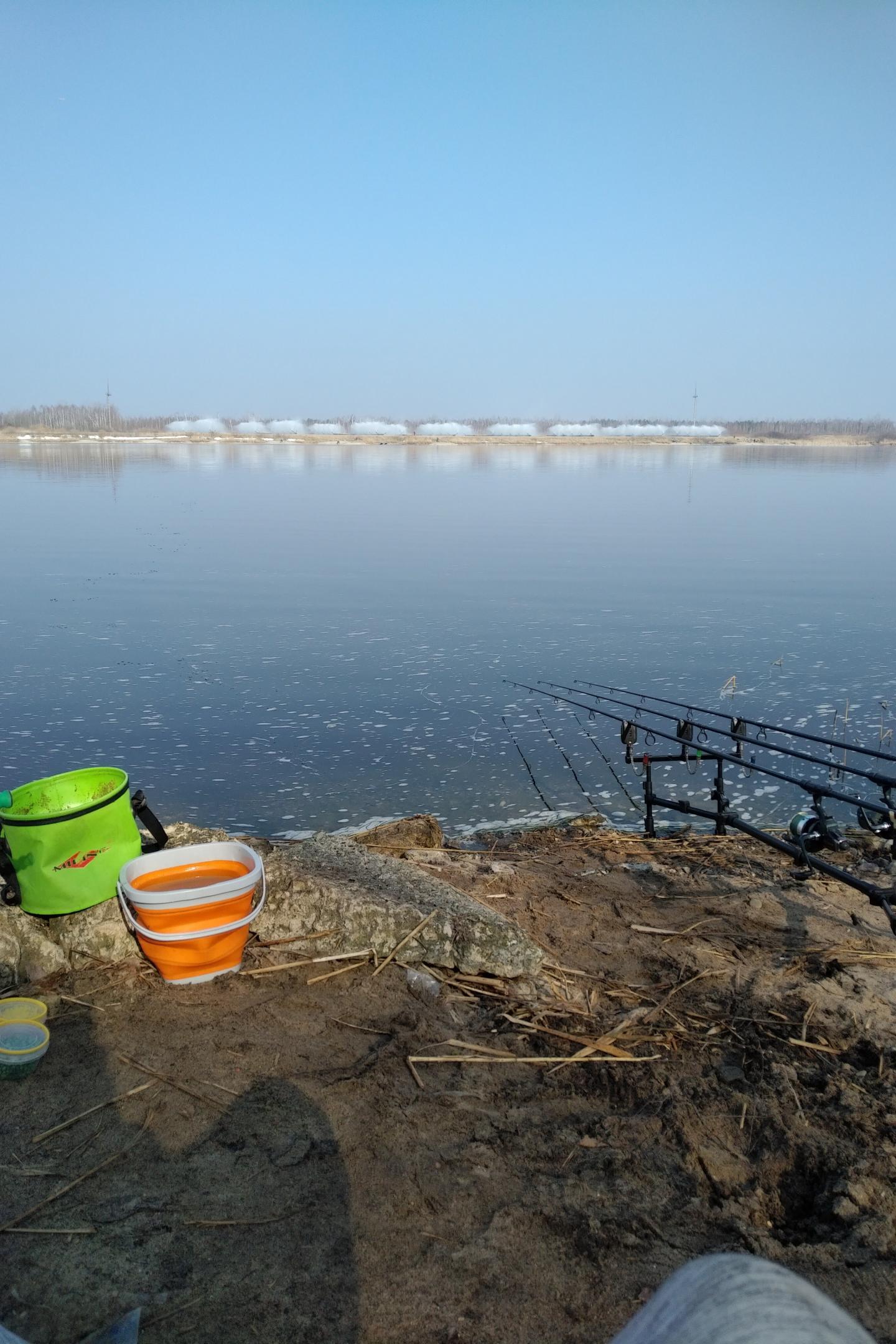 """""""Из пушки - по воробьям"""" часть 2на месте ...   Отчеты о рыбалке в Беларуси"""