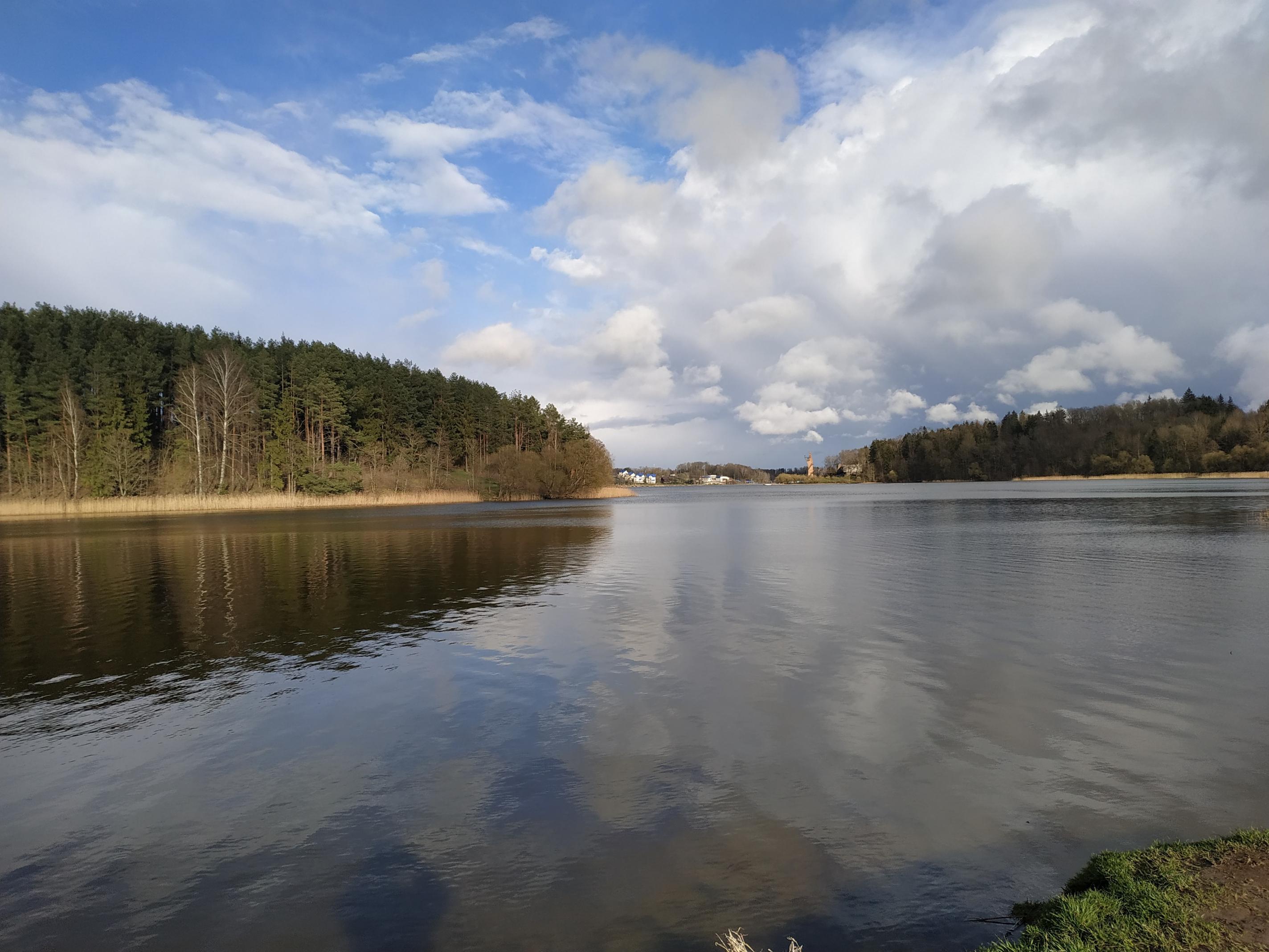 Сегодня снова гуляли. Погодка интересная. Сначала ветрила, потом ... | Отчеты о рыбалке в Беларуси