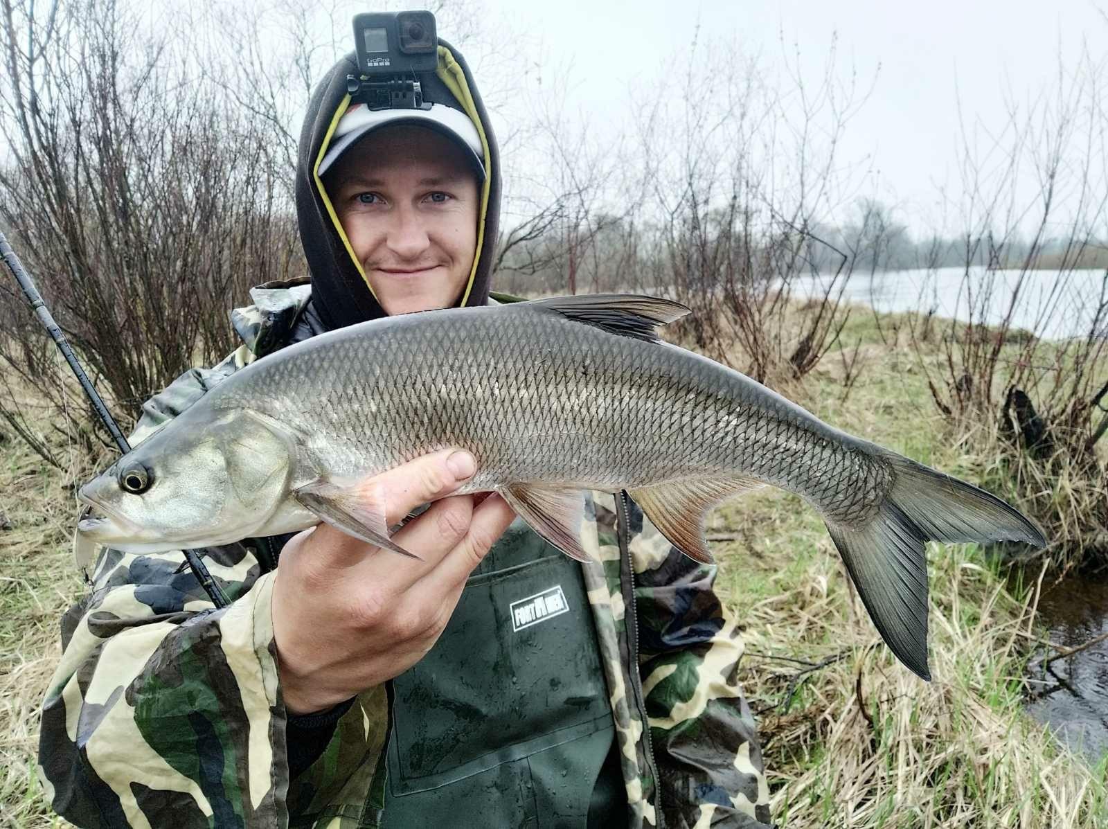 Второй день охоты на жереха. Утро началось с ... | Отчеты о рыбалке в Беларуси