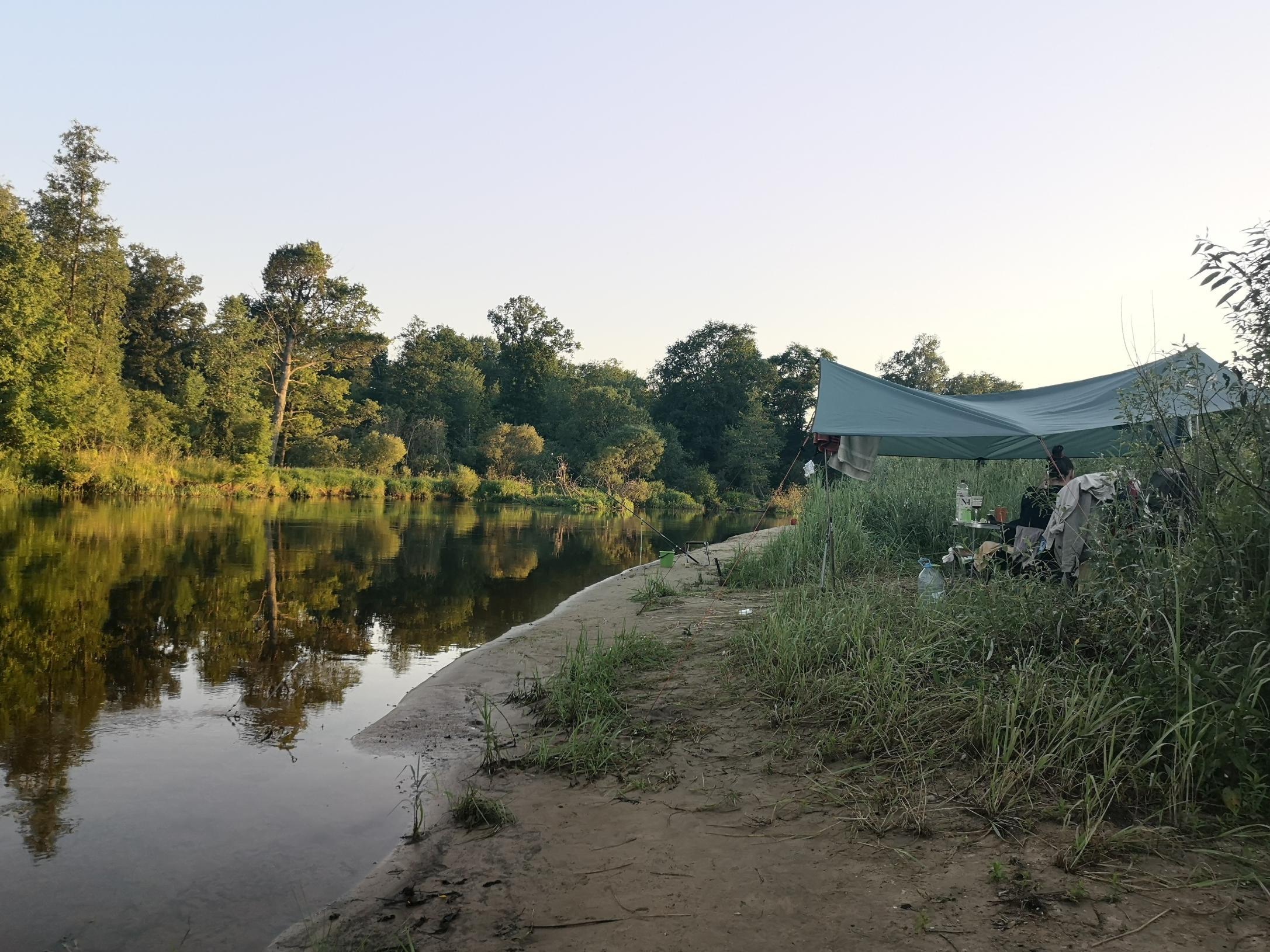 По случаю шикарной погоды, в минувшие выходные рыбалить ... | Отчеты о рыбалке в Беларуси