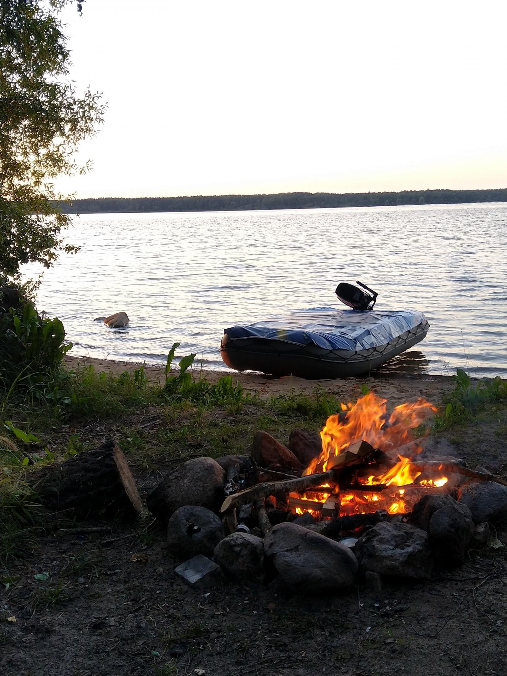 Побывали на ВВ с ночёвкой - отдохнуть и ... | Отчеты о рыбалке в Беларуси