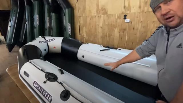 Килевые и плоскодонные лодки ПВХ - отличия