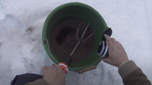 Прикормка для холодной воды