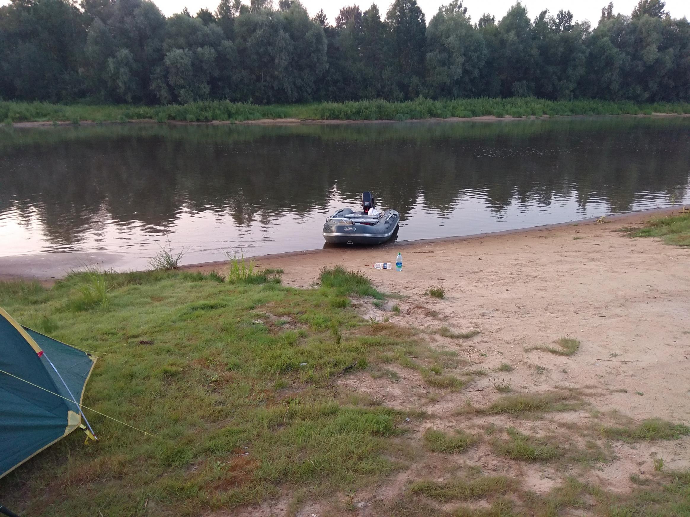 Тоже провел время на реке, с субботы ...   Отчеты о рыбалке в Беларуси