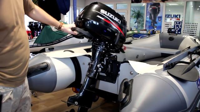 Установить мотор на лодку