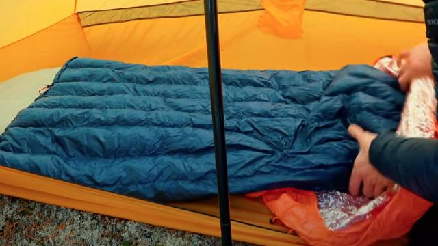 Выбрать спальник - спальный мешок